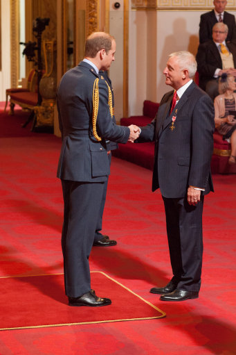 Image result for John Morris OBE